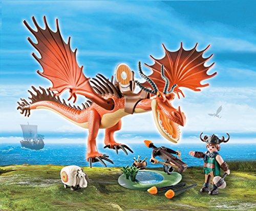 Dreamworks Dragons Snotlout & Hookfang