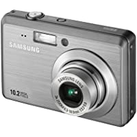 Samsung ES55 Digital Camera - Silver (10MP, 3x Optical Zoom) 2.5 inch LCD