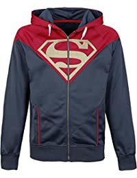 Hoodie 'Superman' - Superman Front Logo - Taille S