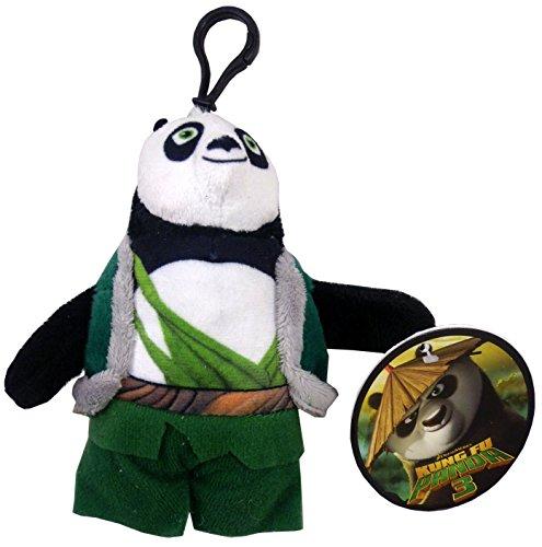 11cm Kung Fu Panda suave del bolso del juguete Clip - LI Carácter