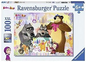 Ravensburger Puzzle 10590Pintar con mascha