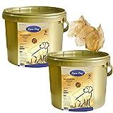 2 x 4 kg Lyra Dog Senior im Eimer Premium Hundefutter für ältere Hunde + 4 Ohren