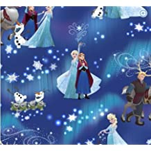 Frozen tela copo de nieve mágica por Disney para suspensión para Creative medio metro, Elsa, Anna, Olaf, azul, LED, Kristoff, Sven, Pabbie, Troll