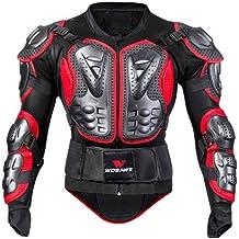 Per Chaqueta de Armadura Hombre para Motocross Esquí CS y Montar Bici Protector para Deportes al