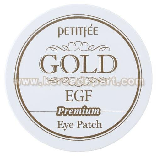 PETITFEE Premium Gold & EGF Eye Patch Korean Beauty [Imported]