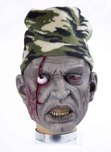 Forum Novelties Halloween Horror Maske Zombie Jäger mit - Kostüm Und Schusswunde