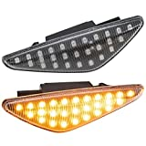phil trade LED SEITENBLINKER kompatibel für BMW X3 F25 | X5 E70 | X6 E71, E72 | KLARGLAS [7137-B]