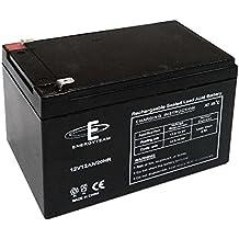 Batería 12 V 12Ah estanqueidad EnergyTeam al plomo