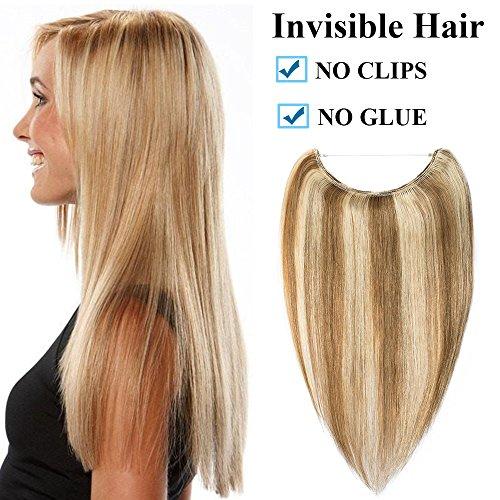 Extension capelli veri filo invisibile fascia unica 40cm 16