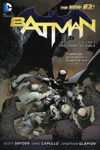 Batman Vol. 1: The Court of Owls (The New 52) by Snyder, Scott (2013) Paperback