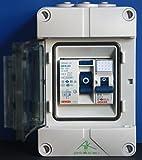 Spelsberg Verteiler/Stromanschluss für Camping und Garage mit 2-poligem Gewiss FI 30mA + B16