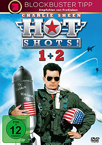 #Hot Shots! – Teil 1 + Teil 2 [2 DVDs]#