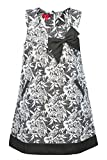 La-V Mädchenkleid mit Schleife Grau/Größe 122
