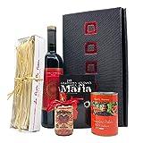 Italienisches Geschenkset M.A.F.I.A. mit Italienische Spezialitäten - Feinkost Geschenkkorb | Perfekt zum Verschenken