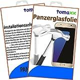 tomaxx Samsung Galaxy J3 2017 Panzerglas Panzerglasfolie Glasfolie Displayschutz brillante Qualität