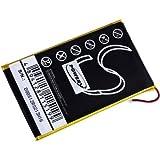 akku-net Akku für E-Book Reader Barnes & Noble Typ PR-285083, 3,7V, Li-Polymer