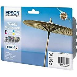 Epson C13T04454010 Pack de 4 Cartouches d'encre pour C64/C84