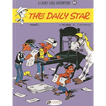 Lucky Luke - tome 41 The Dailly star (41)