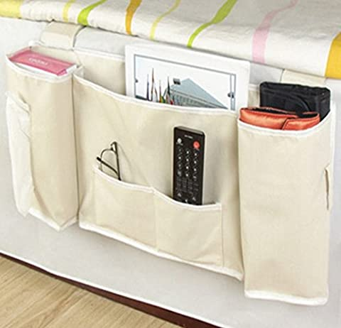Table de chevet étagère maltonyo175poches sac de rangement accrocher articles divers, Magazines, Téléphone portable, tissus Support (5925,5* * * * * * * * * * * * * * * * 6,5cm)