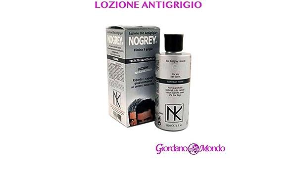 LOZIONE PER CAPELLI ANTIGRIGIO NOGREY 200 ml PROFESSIONALE PER  PARRUCCHIERE  Amazon.it  Bellezza ed530340db1d