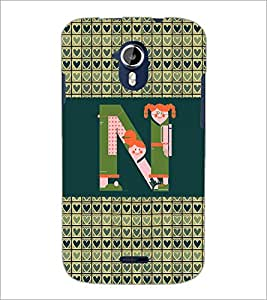 PrintDhaba GRANDbet N D-4146 Back Case Cover for MICROMAX A116 CANVAS HD (Multi-Coloured)