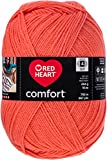 Red Heart Comfort Yarn - Papaya (Pack of 2 )