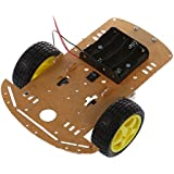 SainSmart Motor intelligente Roboter-Auto-Fahrgestelle Kit Drehzahlgeber-Batterie Box 2WD Smart Car Chassis Kit Tracing Auto mit Speed Encoder 1:48 für Arduino