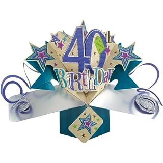 Geburtstag 40 einlage