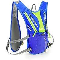 Lixada hidratación al aire libre Chaleco de hidratación Mochila para Marathoner Trail Running Race 12L