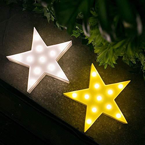 NewbieBoom Laterne Kinderzimmer Kreative Mond Nachtlicht Batterie Modell Led Stern Dekoration Lampe Laterne (Farbe: Gelb, Stil: Stern), Blau, Wolke