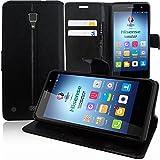 VComp-Shop® PU-Leder Handy Brieftasche mit Kartenfächer