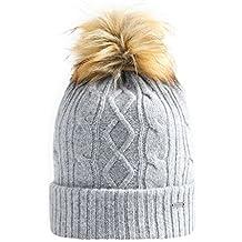 Vulpés Beanie Damen mit Bommel - Intelligente beheizbare Mütze für warme Ohren