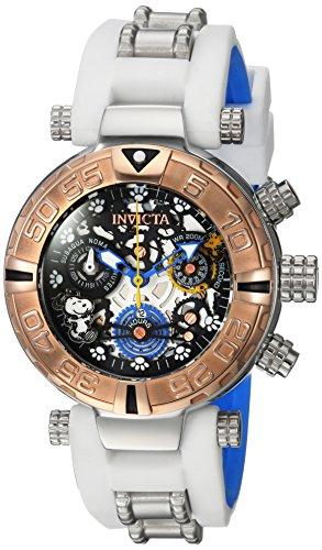 Invicta Womens Analog Quartz Watch with Silicone Strap 24812