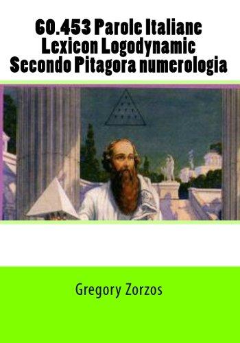 60453-Parole-Italiane-Lexicon-Logodynamic-Secondo-Pitagora-numerologia