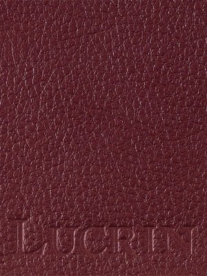 Colecciones Descuentos Lucrin - Etichetta per bagagli - Bianco - Pelle Ruvida Bordò Comprar Barato En Línea ESpYARy