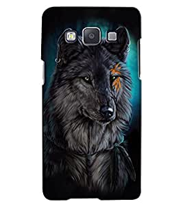 Citydreamz Wolf/Wild/Animal/Jungle Hard Polycarbonate Designer Back Case Cover For Samsung Galaxy On7 Pro