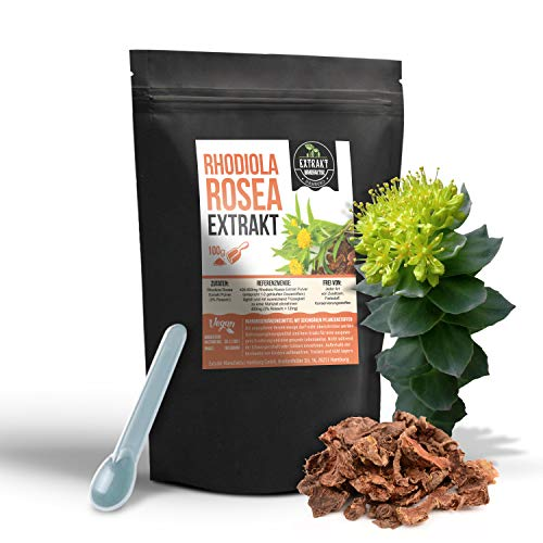 Rhodiola Rosea EXTRAKT | 3% Rosavin | 100g PULVER...