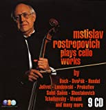 Mstislav Rostropovitch Plays Cello Works (Coffret 9 CD)