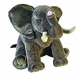 Wild Republic 19517 Jumbo Plüsch Elefant, großes Kuscheltier, Plüschtier, Little Biggies, 53 cm