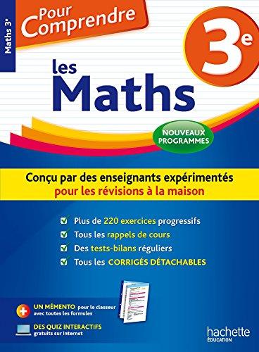 Pour Comprendre Maths 3e - Nouveau programme 2016