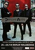 Depeche Mode, Berlin, 2018, Original - Konzert - Plakat - Poster