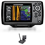 fishfinder / gps colour humminbird helix 5 g2 chirp si transom transducer & temperature