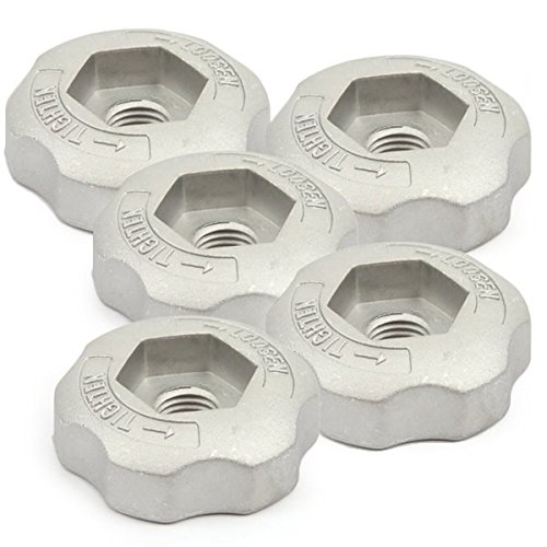 Ecrou de serrage pour tête débroussailleuse 2 fils nylon par 5 - Pièce neuve