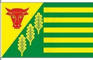 Königsbanner Hissflagge Kropp - 60 x 90cm - Flagge und Fahne