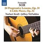 F. Sor: 24 Progressive Lessons Op. 31...