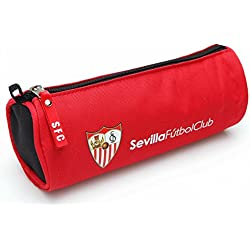Seva FC Sevilla Estuches, 23 cm, Rojo