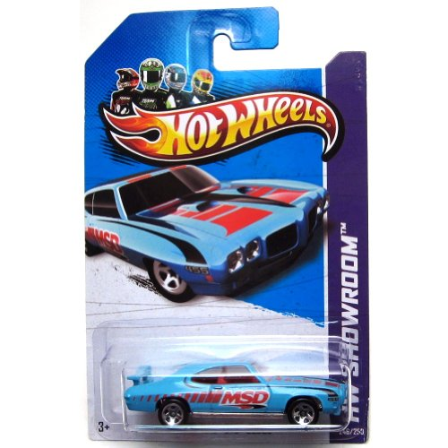 70 Pontiac GTO Judge '13 Hot Wheels 246/250 (blau) Fahrzeug (Hot Gto Wheels)