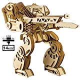 KINGSW Bauspielzeug, Bausteinspielzeug, dreidimensionale Holzpuzzle, DIY handgefertigtes Kinderspielzeug, Spielzeugpuzzle