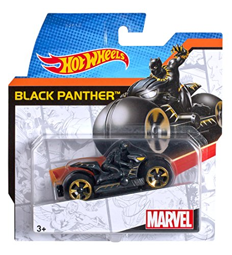 Mattel Hot Wheels Marvel Moto Ass.To 7 Modelli Djn18