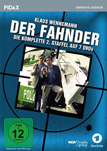 Der Fahnder, Staffel 2 / Weitere 27 Folgen der preisgekrönten Kult-Krimiserie (Pidax Serien-Klassiker) [7 DVDs]